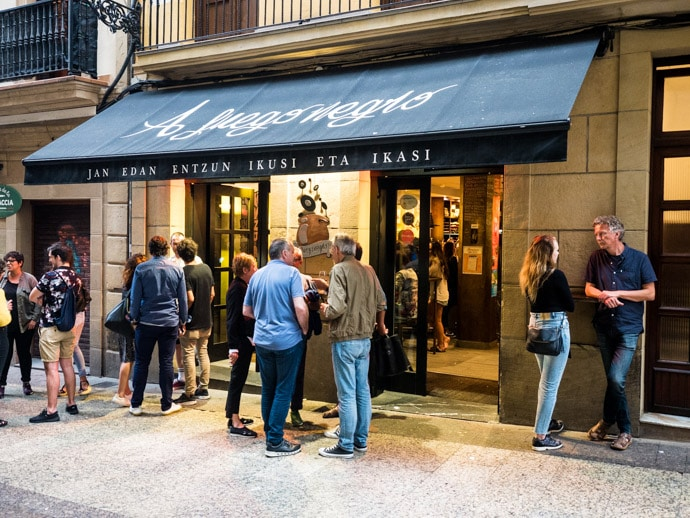 The Best Pintxos in San Sebastian Spain And Pintxos Map