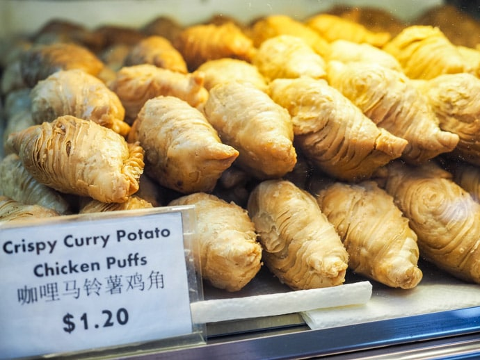 J2 Famous Crispy Curry Puffs