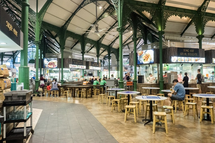 Lau Pa Sat Singapore Hawker Centre