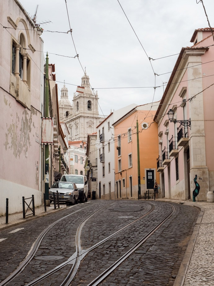 Lisbon Architecture And Streets