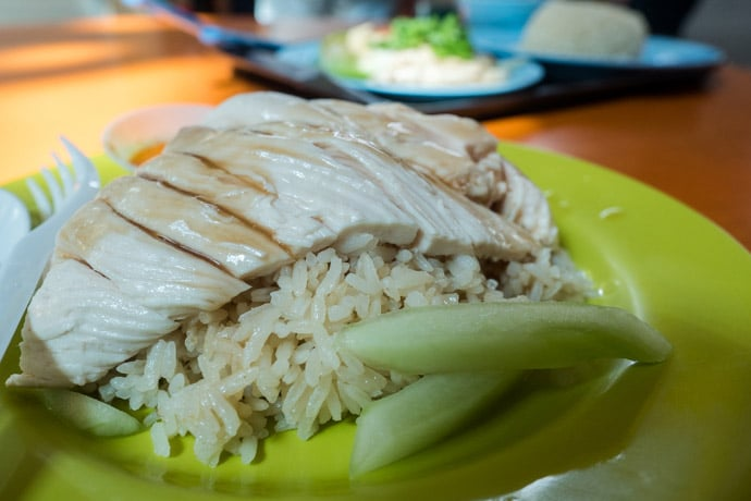 Tian Tian Hainanese Chicken Rice