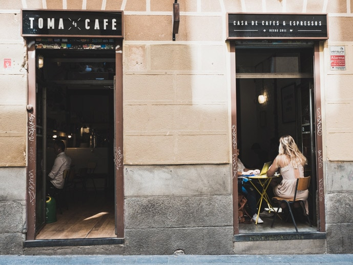 Toma Cafe Madrid