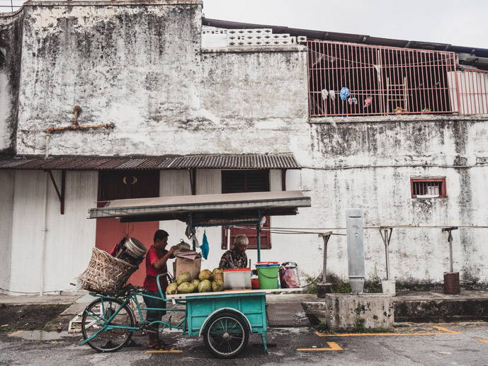 Penang Coconut Vendor