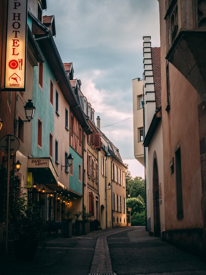 Colmar Street Early Evening