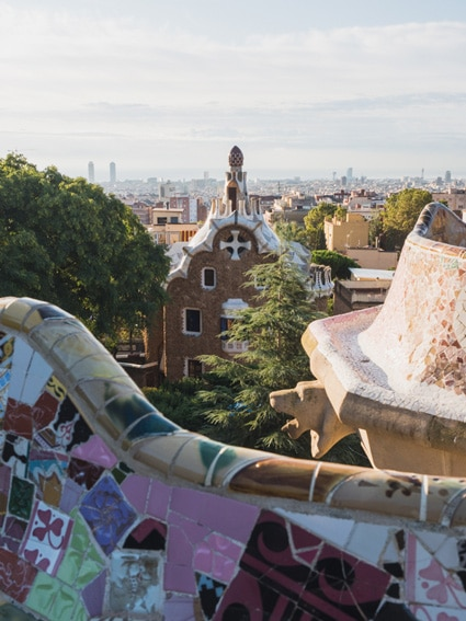 How To Get To Park Guell Barcelona Printable Map