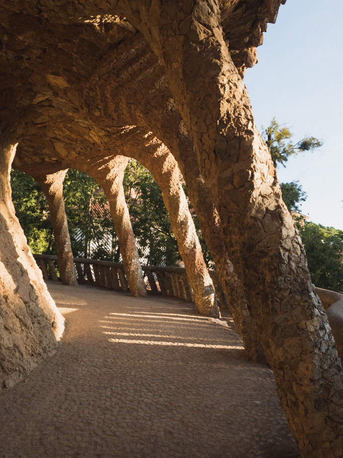 The Laundry Room Portico Park Guell Barcelona