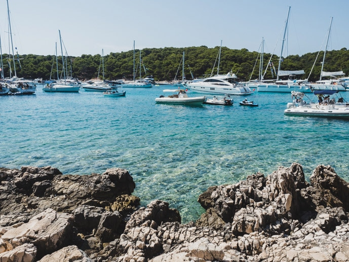 Palmizana Pakleni Islands Hvar Croatia