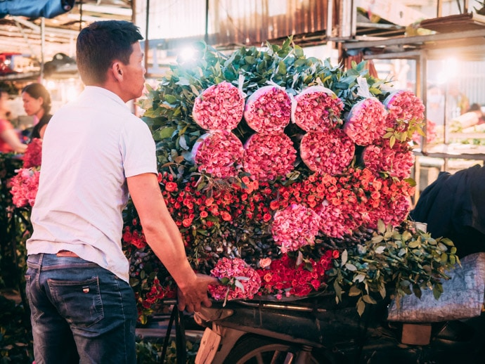 Perfectly Stacked Flowers Quang An