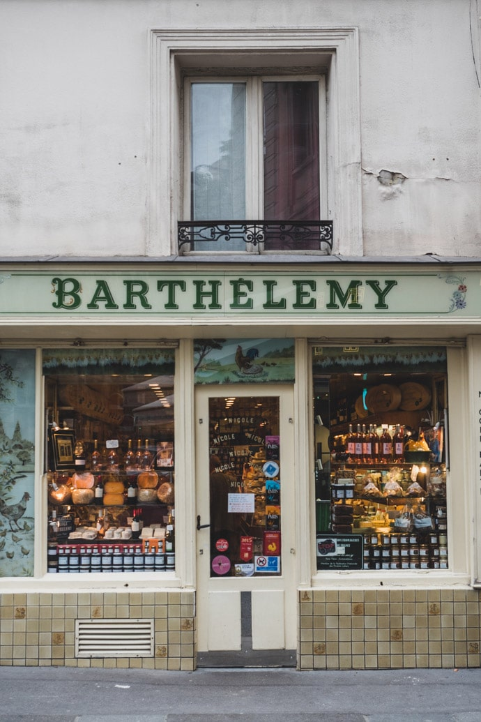 Barthelemy Fromagerie Paris