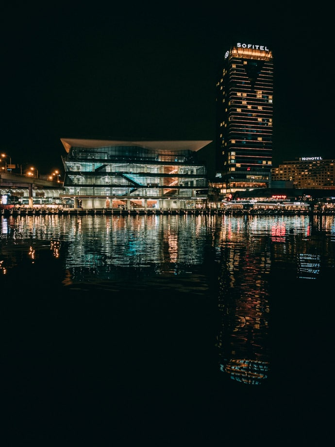 Sofitel Darling Harbour At Night