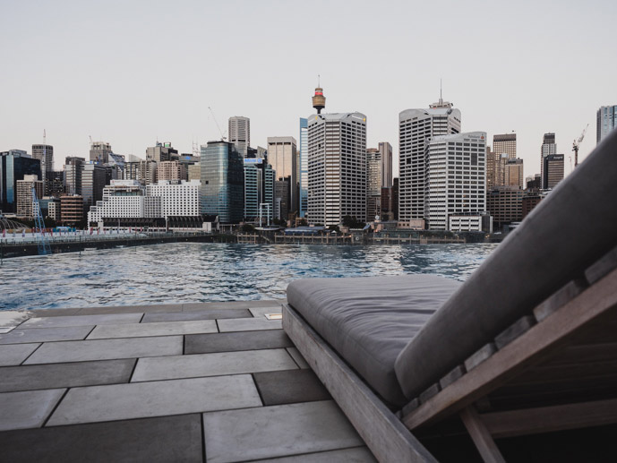 Sofitel Darling Harbour View From The Pool