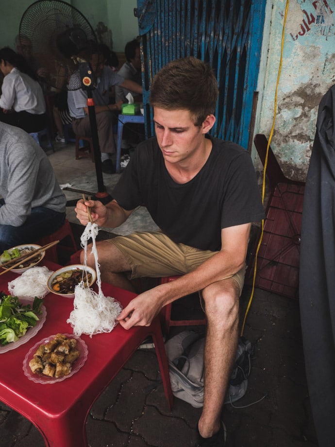 How To Eat Bun Cha Hanoi
