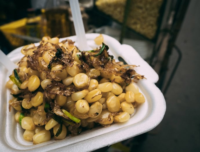 Street Food In Hanoi Corn