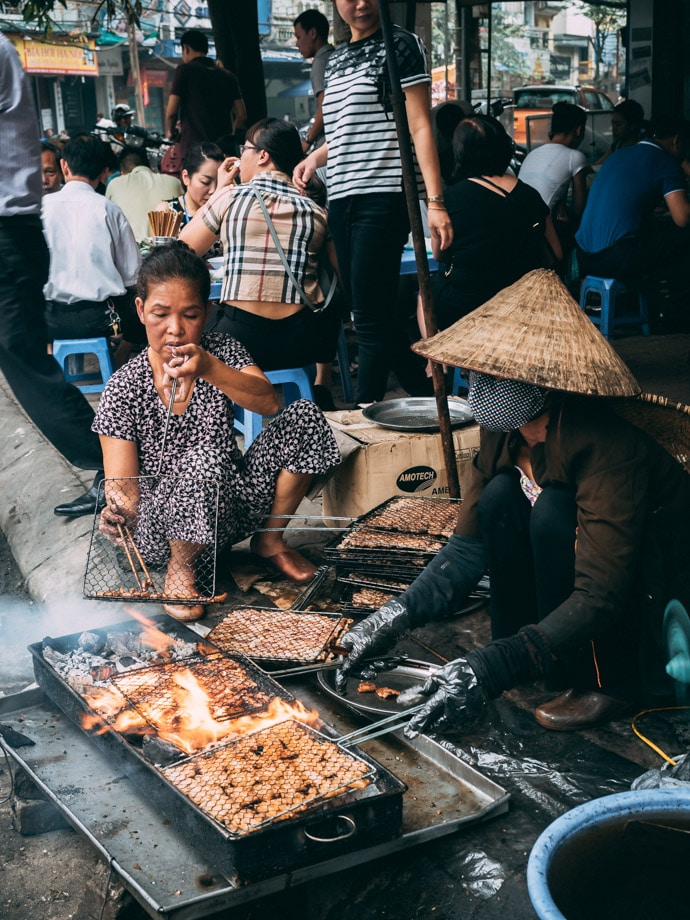 Where To Eat In Hanoi Vietnam