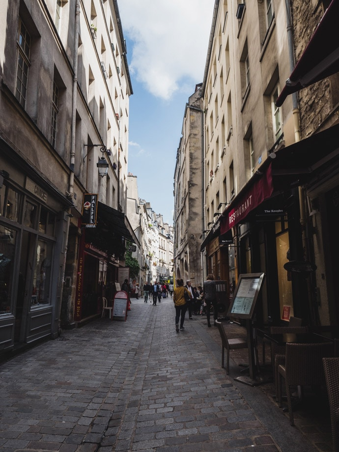 The Marais District Paris