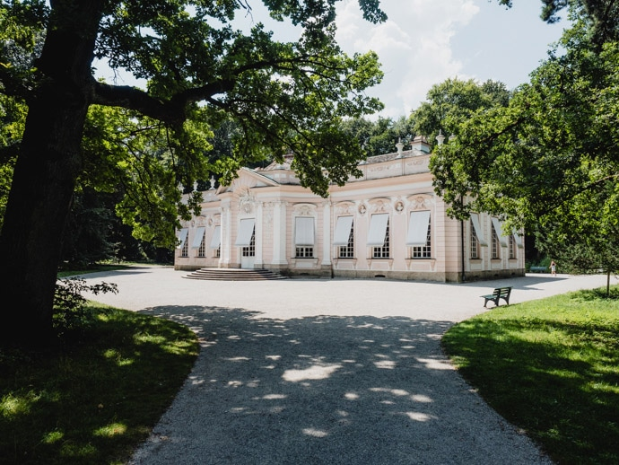 Amalienburg Nymphenburg Park