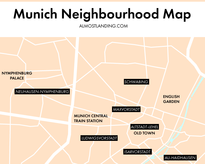 Munich Neighbourhood Map