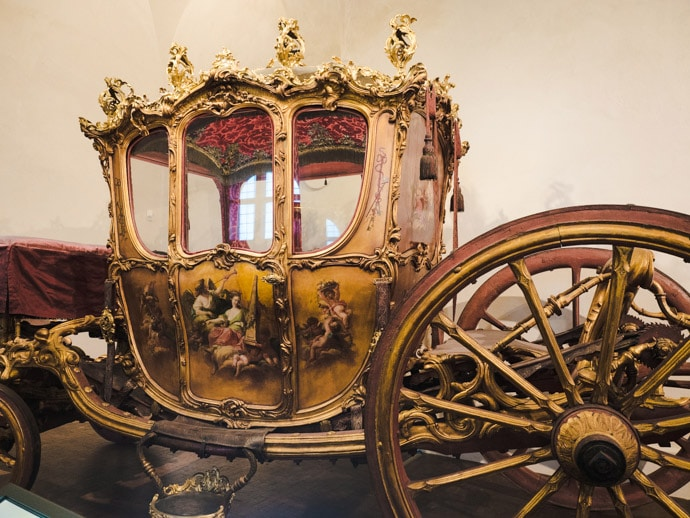 Nymphenburg Marstallmuseum Carriages