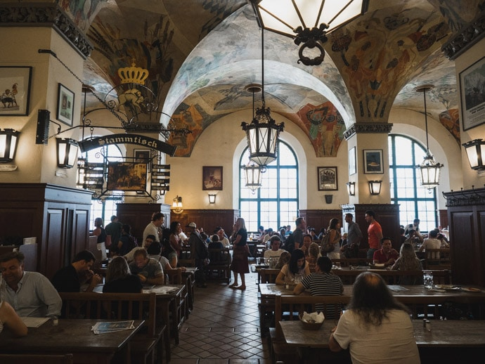 Hofbräuhaus Beer Hall Munich