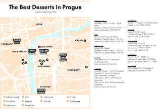 Prague Desserts Map Image