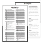 Almost Landing Free Printable Packing List + Tips