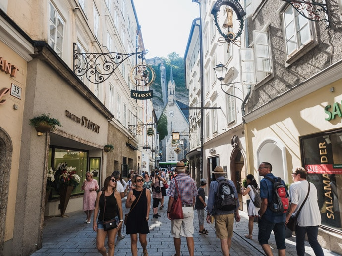 Where To Stay Salzburg Old Town