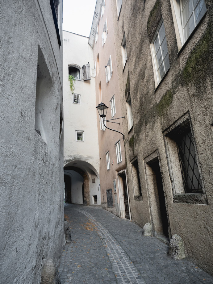 Salzburg Old Town Streets