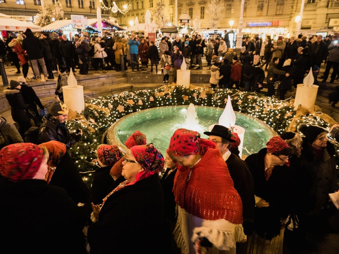 Ban Jelacic Square Christmas Tale
