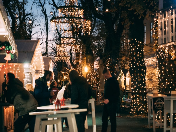 Christmas Markets In Zagreb Croatia