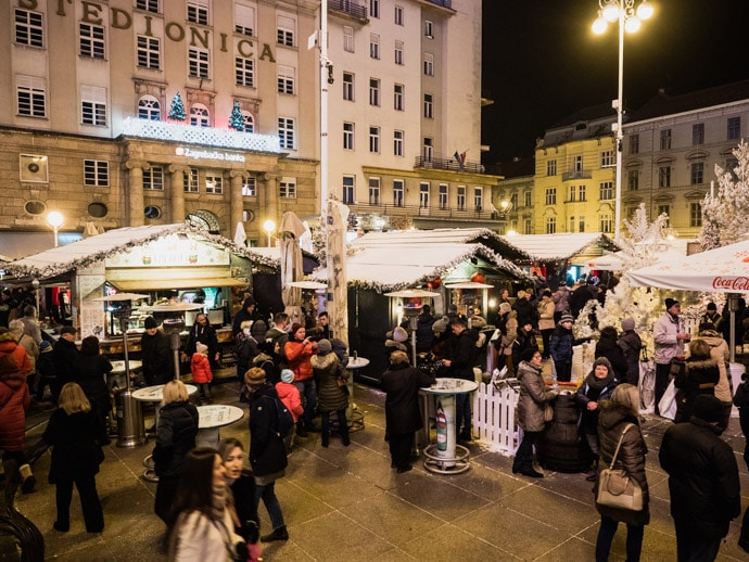 Christmas Tale At Ban Jelacic Square