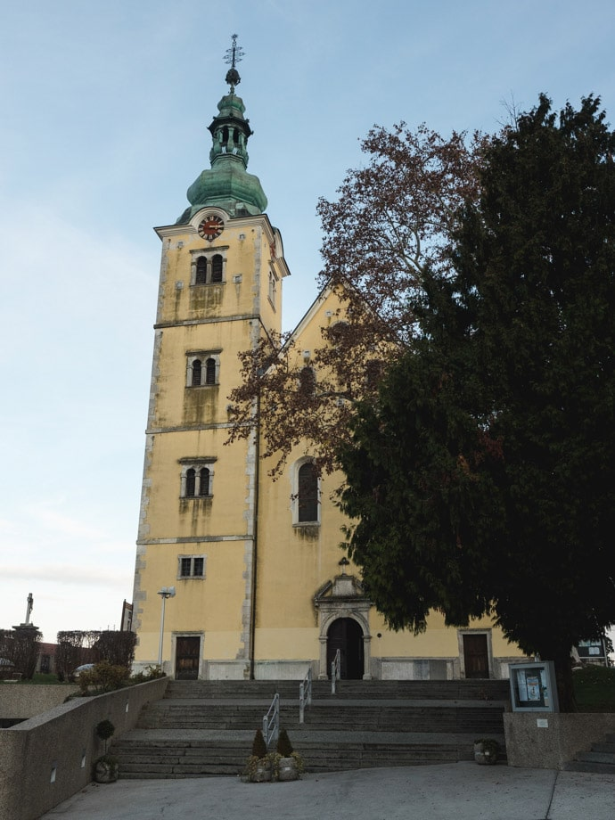 Church Of St Anastasia Samobor
