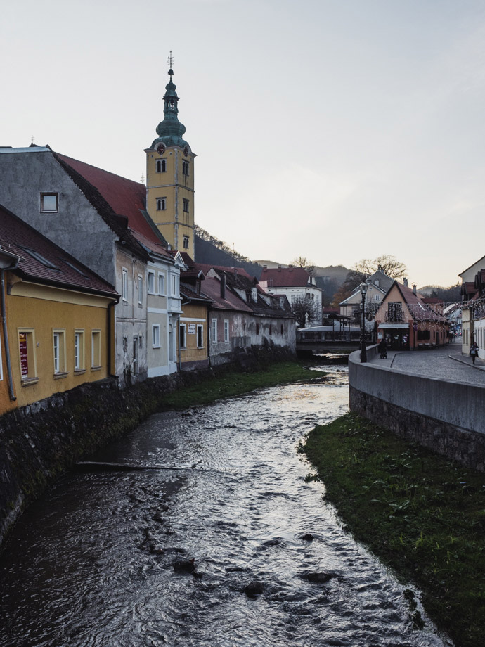 Walk Along The Gradna River Samobor