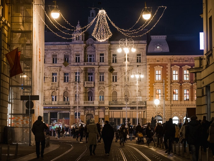 Zagreb At Christmas