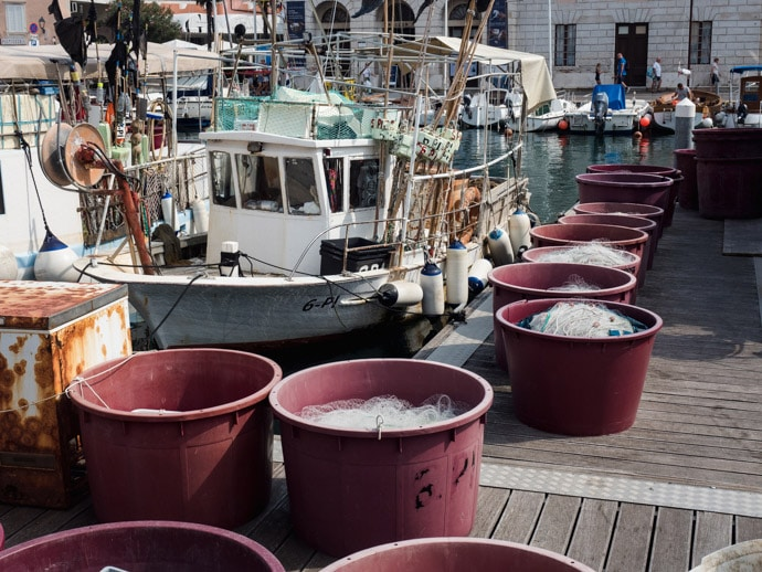 Piran Fishing Boat