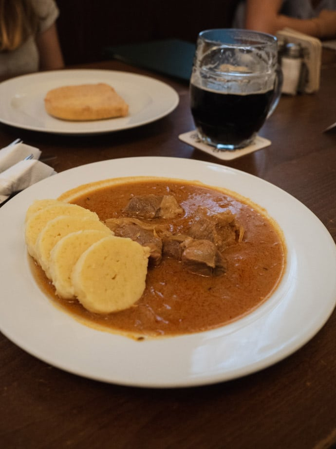 Czech Food Lokal Prague