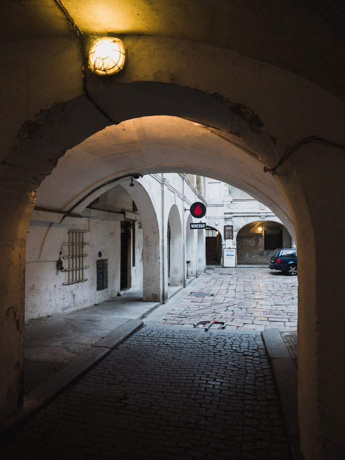 Entrance To Bokovka Prague