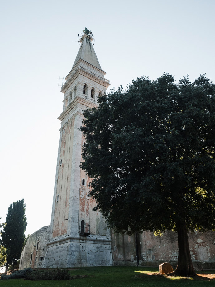 Church Of St. Euphemia Campanile Rovinj