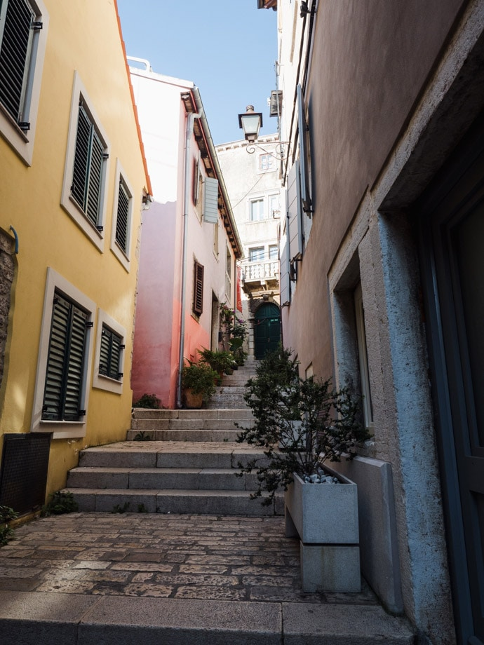 Coloured Houses Rovinj Old Town