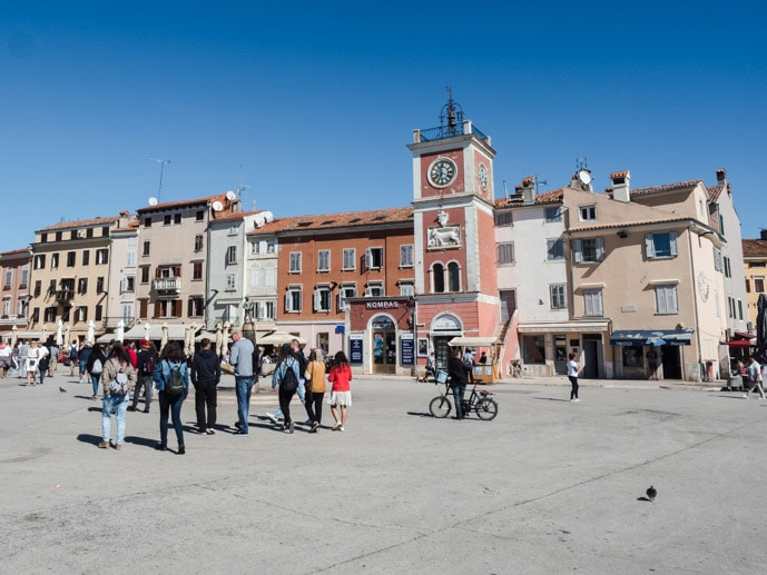 Rovinj Main Square