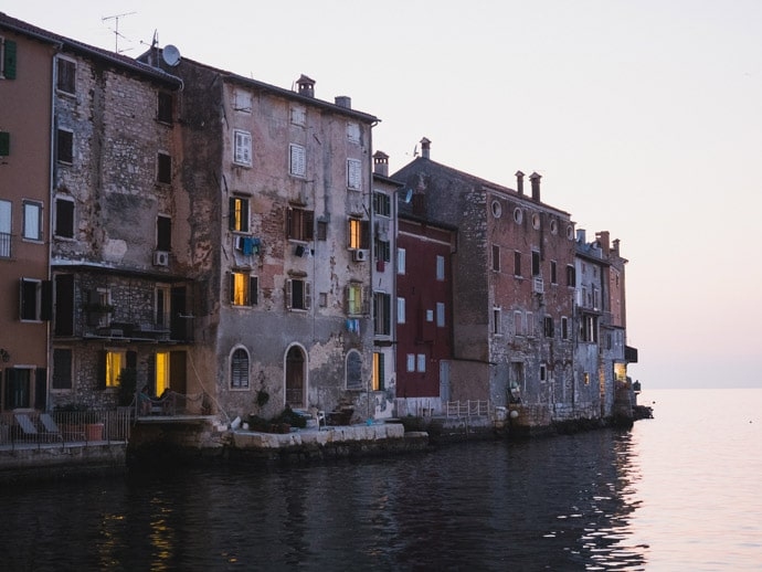 Rovinj Old Town Houses