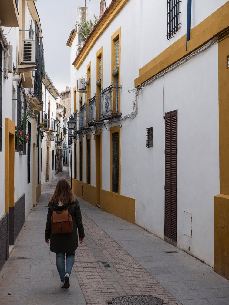 Walking The Streets Cordoba Spain