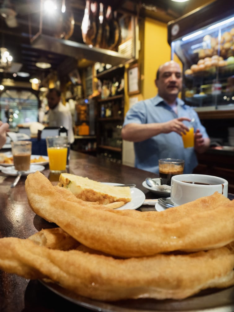 Breakfast In Seville Bar El Comercio