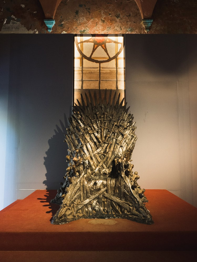 The Iron Throne Lokrum Island