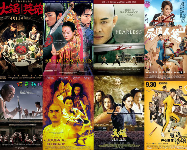 Movies Set In China