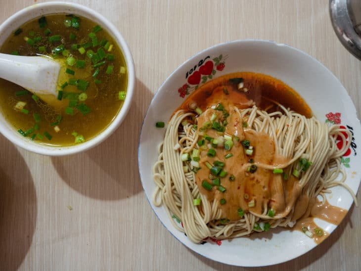 Best Noodles In Shanghai China