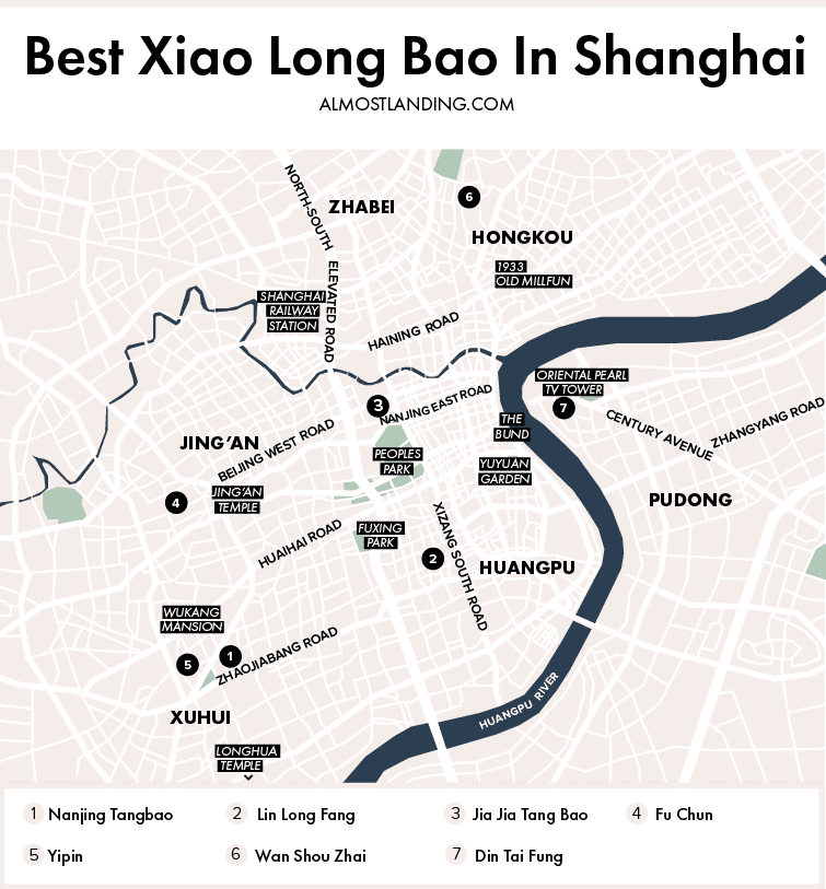 Best Xiao Long Bao In Shanghai Map