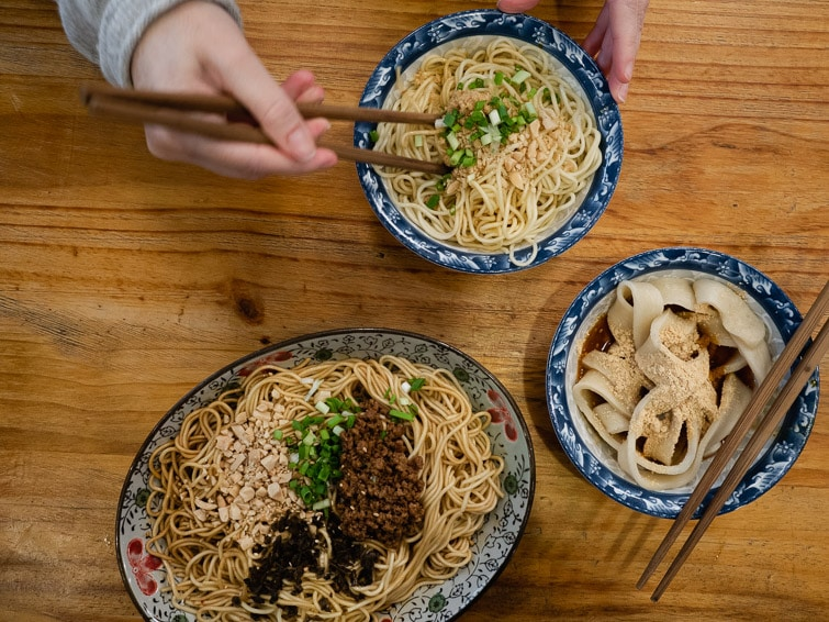 Different Types Of Noodles Chuan Noodle Restaurnat