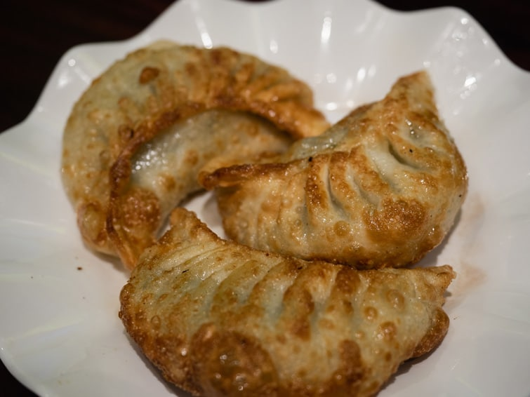 Fried Leek Dumplings Fu Chun