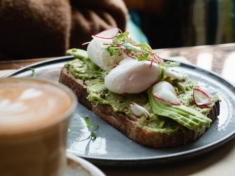 Avocado Toast In Shanghai O'Mills