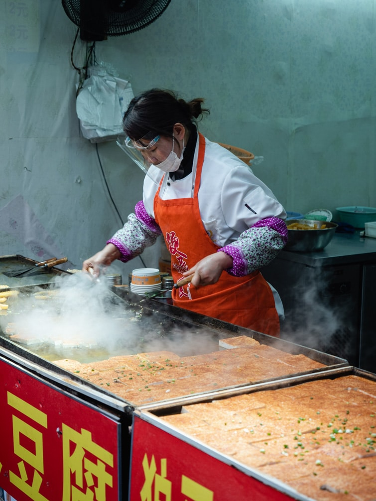 Street Food In Nanxiang Water Town China